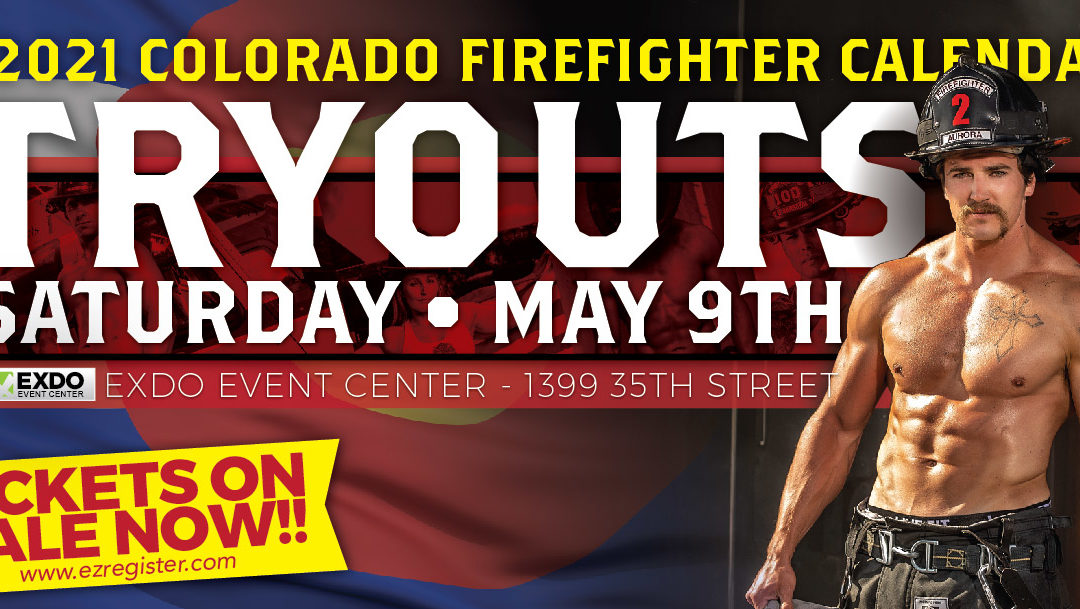 CANCELLED: COLORADO FIREFIGHTER CALENDAR 2021 TRY OUTS